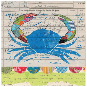 Blue Crab Feast Paper Cocktail Napkins Pk of 20 Beverage - 4NC4692