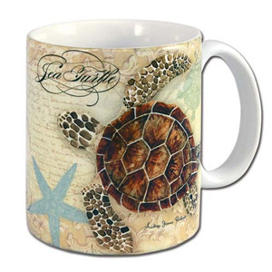"Turtle Beach Theme ""Sea Turtle"" Coffee 11 oz Mug - 60006"