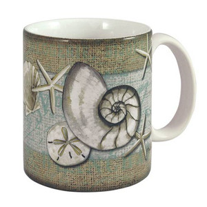Sea Shell Sand Dollar Coffee 11 oz Mug - 60020