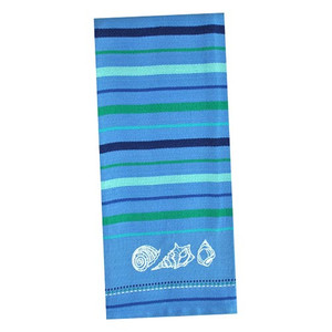 Sea Shells Embroidered Dishtowel 26891