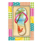 Love Flip Flops House Flag 132422