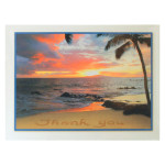 Sun Set Thank You Note Cards Pack of 8 BTN35972