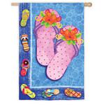 Summer Flip Flops Garden Flag 14S2014