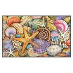 "Beach Shells Welcome Floor Mat - 18"" x 30"" - 800033"
