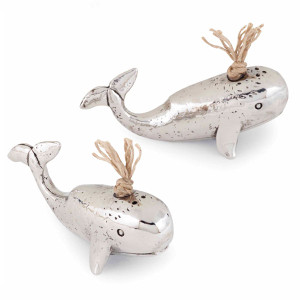 Whale Salt & Pepper Shakers 4501006