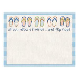 Flip Flop Friends Note Pad - 27526