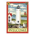 Beach Lighthouse Garden Flag - JFL066