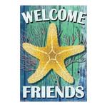 Starfish Beach Welcome Garden Flag - JFL152
