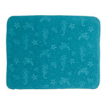 Seahorse Starfish Sea Turtles Embossed Drying Mat - A8945