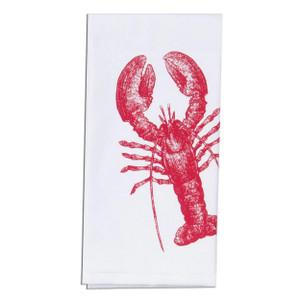 Ocean Lobster Krinkle Flour Sack Towel A8508