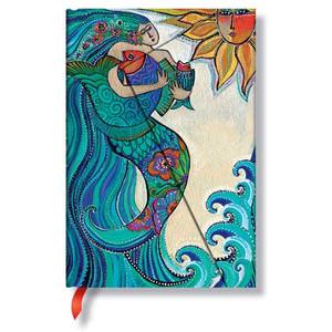 Mermaid Ocean Song 4x5 Journal 2233-6