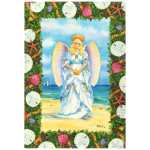 Shell Angel Christmas Cards 10 Box C73699