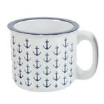 Mug - Ceramic White Anchor 16oz - 20386W