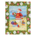 Christmas Cards Sandy Snowman 12 Per Box N92495