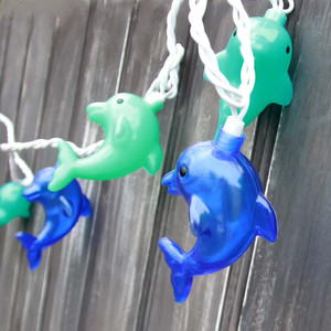Dolphin 10 String Lights 8' Long Strand 70208