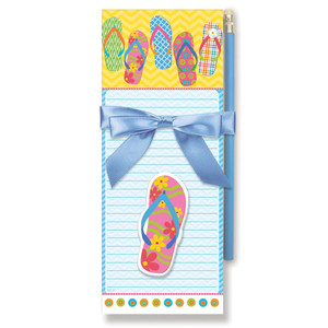 Flip Flop Magnetic List Pads with Magnet Set - 91-418