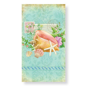 Tropical Beach Shells - Paper Guest Towels 30 Pack 848-78
