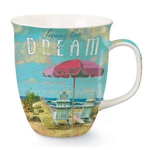 Tropical Dreams Relaxing Beach Chairs Coffee Mug 718-44