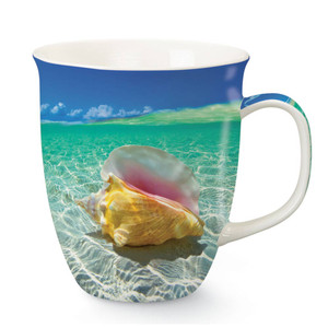 Colorful Conch Shells Beach Coffee Mug 718-51
