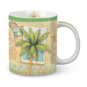 Tropical Palm Tree Coffee Mug 714-43