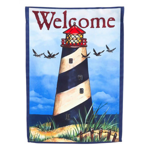 Lighthouse Welcome GARDEN Flag - 14S3787