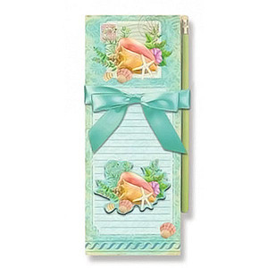 Conch Shell Magnetic List Pad with Pencil - 91-426