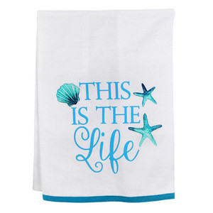 This is the Life Cotton Towel 20274L
