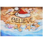 Christmas Cards Believe 10 Per Box C74713
