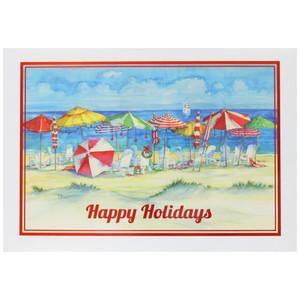 Holiday Festive Greetings Christmas Cards 10 Box C74723