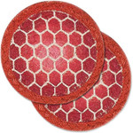 """Turtle Shell Table Trivet - SET OF TWO - 5"""" - H-002-5"""