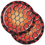 "Turtle Shell Table Coaster - SET OF TWO - 5"" - H-006-5"