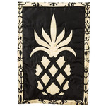 "Traditional Pineapple Fiber Optic Garden Flag - 12"" x 18""- 16SL7830"