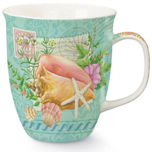 Summer Sea Shells Coffee Mug - 15 oz - 718-22
