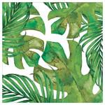 Palm Leaf Single Absorbent Coaster - SB73391