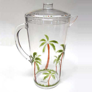 Palm Breeze 2Qt Acrylic Pitcher 25440