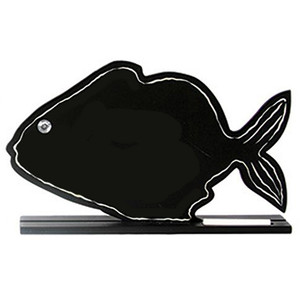Fish Creature Chalkboard Sign 26035D