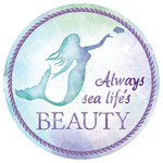 Mermaid Beauty Absorbent Stone Coaster for Car Cup Holder CB72781