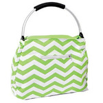 Green Chevron Beach Tote - 60337B