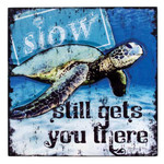Raised Art Sea Turtle Plaque 34277