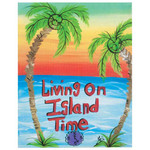 Living on Island Time Canvas 35353