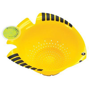 Angel Fish Colander Plastic 35498