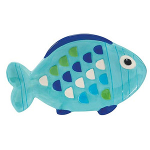 Blue Tropical Fish Spoonrest 55968