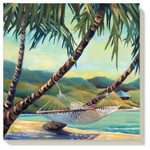 Beach Hammock Stone Coasters 4 Pack Assorted 87000