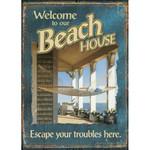 Our Beach House Garden Flag  119183