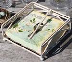 Antique White Luncheon Napkin Holder 323936