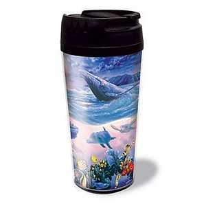 Precious Ocean Life Thermal Tumbler 02187000