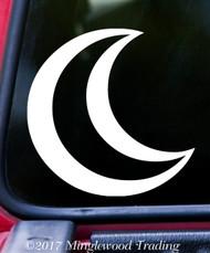 "MOON Astrology Sign - 5"" x 5"" Vinyl Decal Sticker - Zodiac Planetary Glyph"