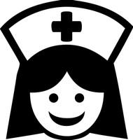 "NURSE 5"" x 5.25"" - V2 - Vinyl Decal Sticker  - ER OR RN LPN Nursing"