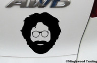 "JERRY GARCIA 4"" x 4"" Vinyl Decal Sticker - Grateful Dead JGB"