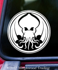 """CTHULHU 5"""" x 5"""" - V1 - Vinyl Decal Sticker - H.P. Lovecraft The Call of Cthulhu - FREE SHIPPING"""